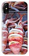 Grilled Squid For Sale IPhone Case
