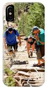Grinding It Out On The Manitou Incline And Barr Trail IPhone Case