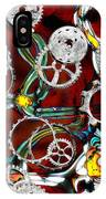 Grinding The Gears IPhone Case