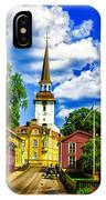 Gripsholm Church IPhone Case