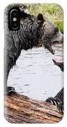 Grizzly Love IPhone Case