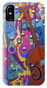 Groovy Music IPhone Case