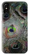 Groovy Peacock IPhone Case