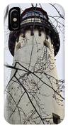 Grosse Point Lighthouse Tower IPhone Case