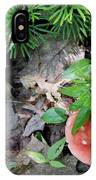 Ground Pine And Fungi IPhone Case
