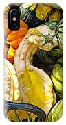 Group Of Gourds Expressionist Effect IPhone Case
