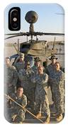 Group Photo Of U.s. Soldiers At Cob IPhone Case