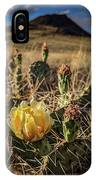 Growing From Volcanos IPhone Case