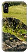 Growing On Rocks. IPhone Case