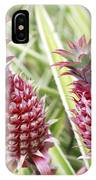 Growing Red Pineapples IPhone Case
