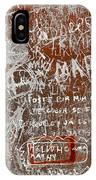 Grunge Background IPhone Case