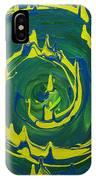 Guacamole Swirl IPhone Case