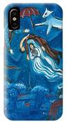 Guadalupe Visits Chagall IPhone Case