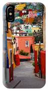 Guanajuato Lane IPhone Case