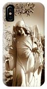 Guardian Angel Bw IPhone Case