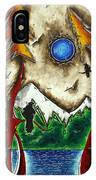 Guardians Of The Wild Original Madart Painting IPhone Case