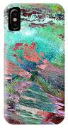 Guided By Intuition - Abstract Art IPhone Case