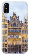 Guild Houses At The Grote Markt IPhone Case