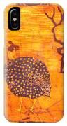 Guinea Fowl IPhone Case