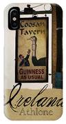 Guinness As Usual Athlone Ireland IPhone Case
