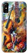 Guitar And Violin IPhone Case