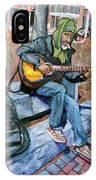 Guitar Man IPhone Case