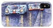 Gulf-porsche 917 K Spa Francorchamps 1970 IPhone Case