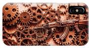 Guns Of Machine Mechanics IPhone Case