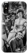 Gunsmoke Cast James Arness Amanda Blake And Burt Reynolds IPhone Case