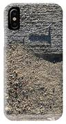 Gutter With Sand And Screw IPhone Case
