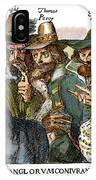 Guy Fawkes, 1570-1606 IPhone Case