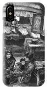 Gypsy Wagon, 1879 IPhone Case