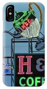 H And C Coffee IPhone Case
