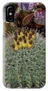 H D R Budding Cactus IPhone Case