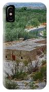 Hacienda In The Desert IPhone Case