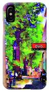 Haddonfield Downtown IPhone Case