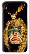Haida Carved Wooden Mask 4 IPhone Case