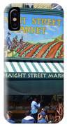 Haight Steet Market San Francisco IPhone Case