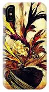 Hairflower Arrangement 2 IPhone Case