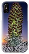 Haleakala National Park Silversword Sunrise Maui Hawaii IPhone Case