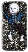 Half Buried Doll IPhone Case