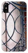 Half Circles On Iron Gate IPhone Case