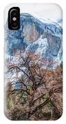 Half Dome Meadow Tree Winter IPhone Case
