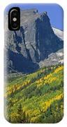 310221-v-hallet Peak In Autumn V  IPhone Case