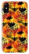 Halloween Abstract - Happy Halloween IPhone Case