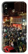 Halloween Draws Tens Of Thousands To Celebrate On 6th Street IPhone Case