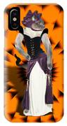 Halloween Hussy IPhone Case