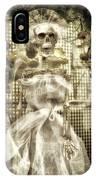 Halloween Mrs Bones The Bride Vertical IPhone Case