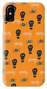 Halloween Scull IPhone Case