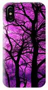 Halloween Trees No 3 By Dm Carpenter IPhone Case